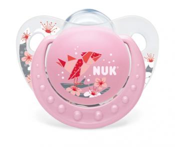Sucette silicone 1 taille1 adoré fille Nuk